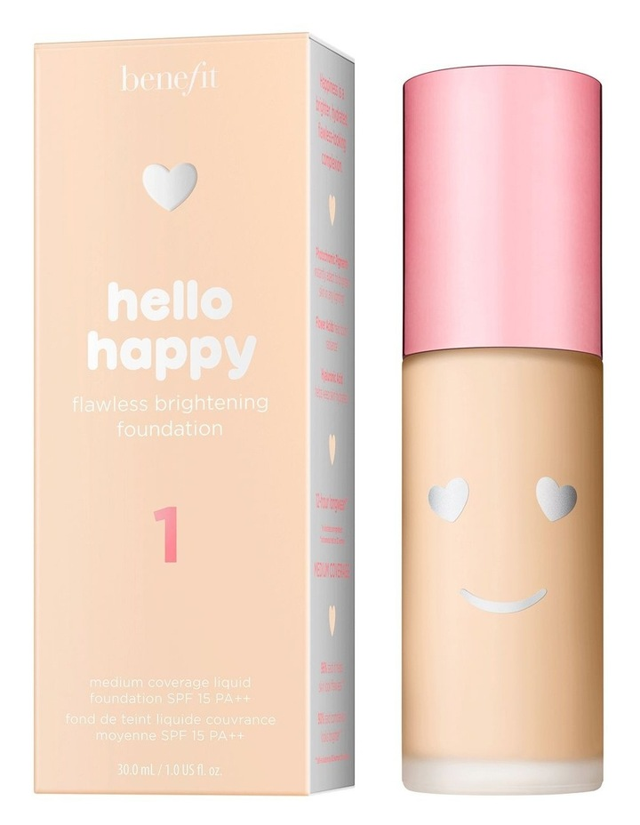 Hello Happy Flawless Brightening Foundation image 1