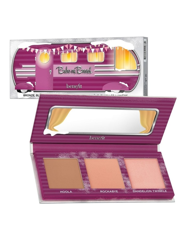 Babe on Board Mini Cheek Palette (valued at $83) image 1