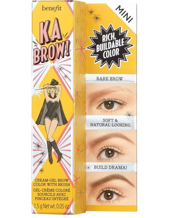 ka-BROW! Eyebrow Cream-Gel Colour Mini image 1