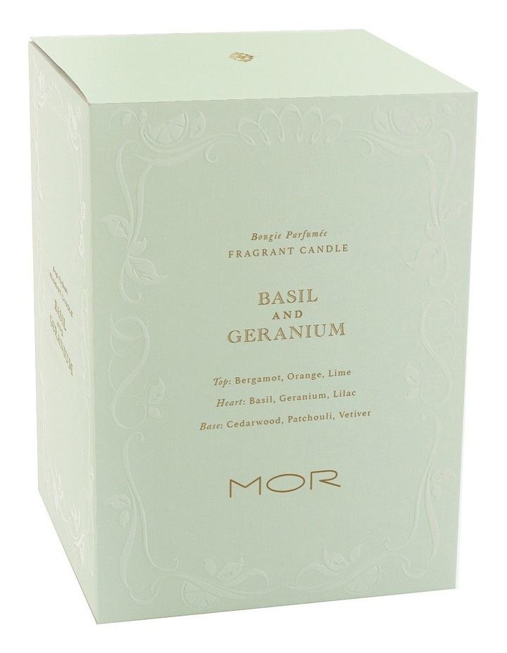 Fragrant Candle  380g Basil & Geranium image 3