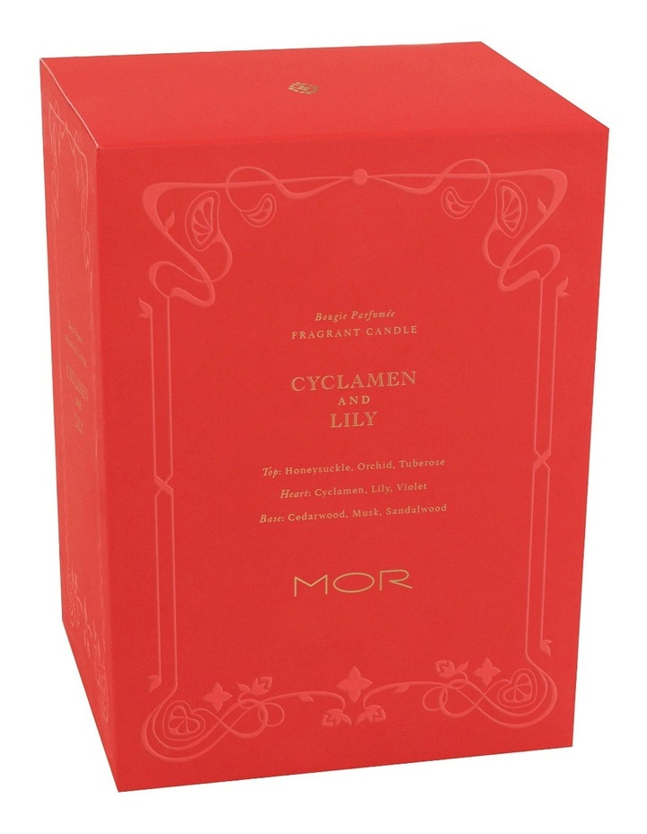 Fragrant Candle 380g Cyclamen & Lily image 3