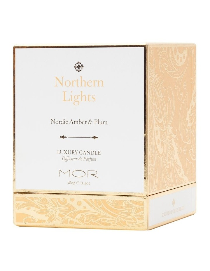Limited Edition Northern Lights Nordic Amber and Plum Candle image 4