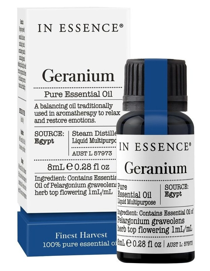 Geranium Pure Essential Oil 8ml image 1