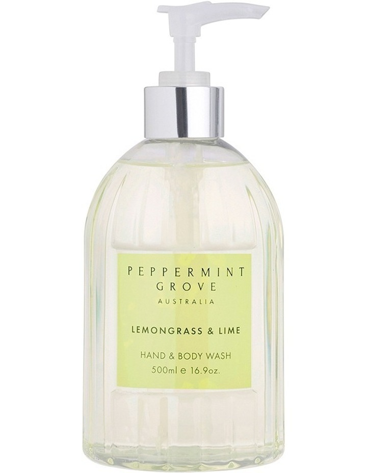 Lemongrass & Lime Hand & Body Wash 500ml image 2