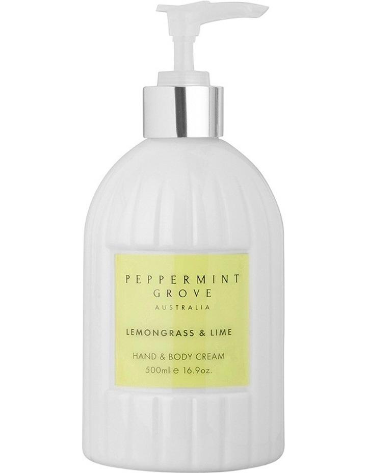 Lemongrass & Lime Hand & Body Cream 500ml image 2