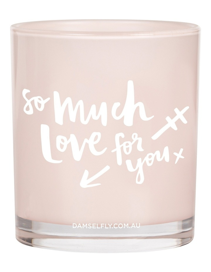 So Much Love For You - Large Candle image 1