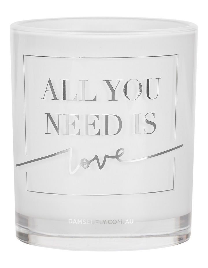 All You Need Is Love - Large Candle image 1