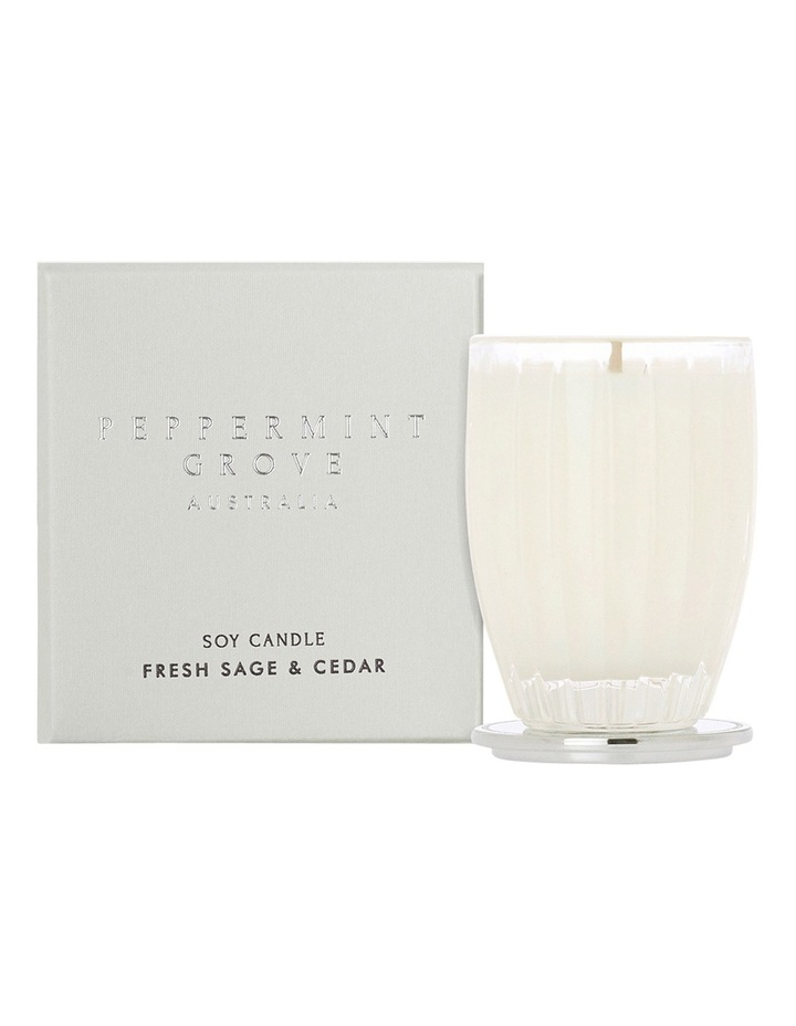 Fresh Sage & Cedar - Small Candle image 1