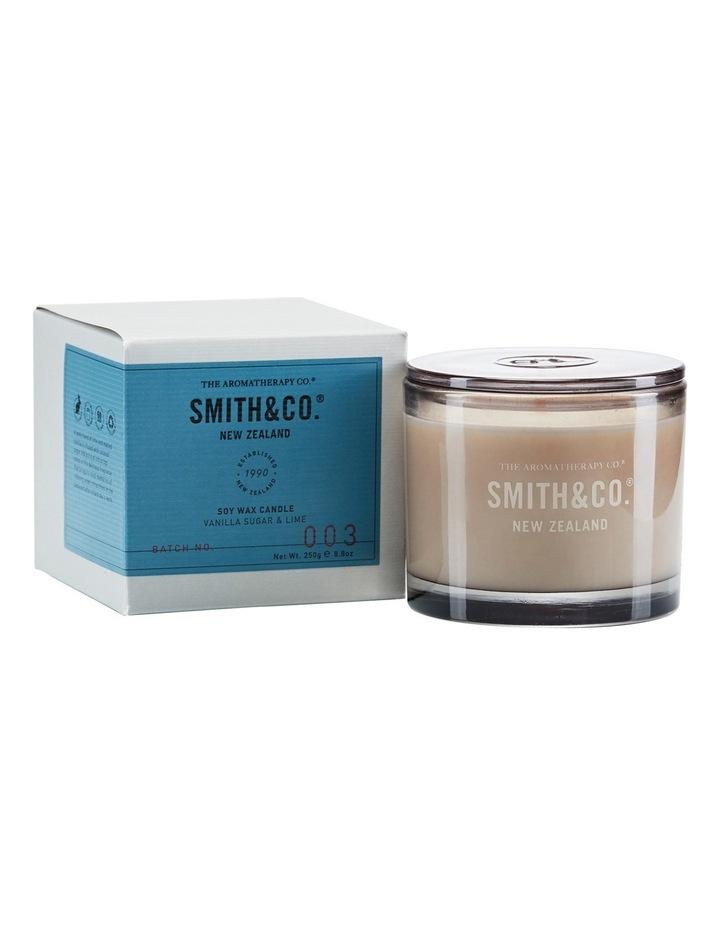 Smith & Co Candle 250g Vanilla Sugar & Lime image 1