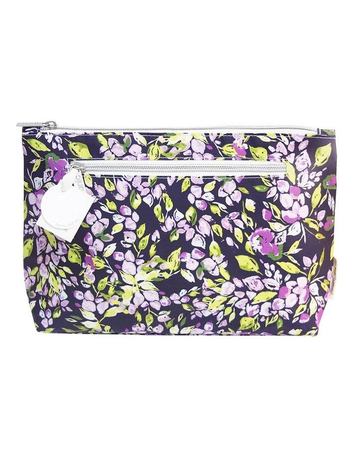 Purple Mini Bell Large Cosmetic Bag image 1