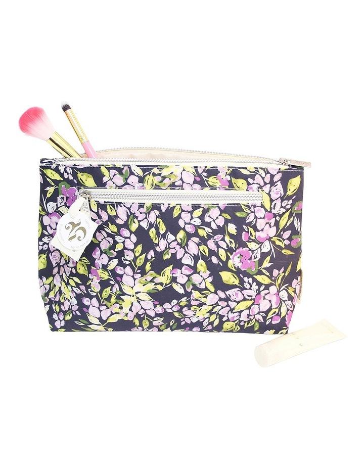 Purple Mini Bell Large Cosmetic Bag image 2