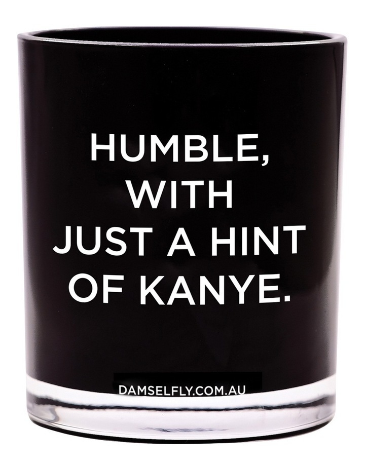 Humble With A Hint Of Kanye Candle image 1