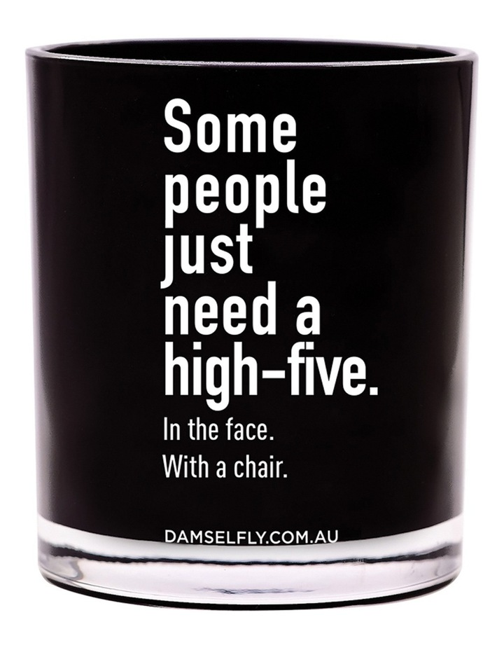Some People Just Need A High-Five Candle image 1