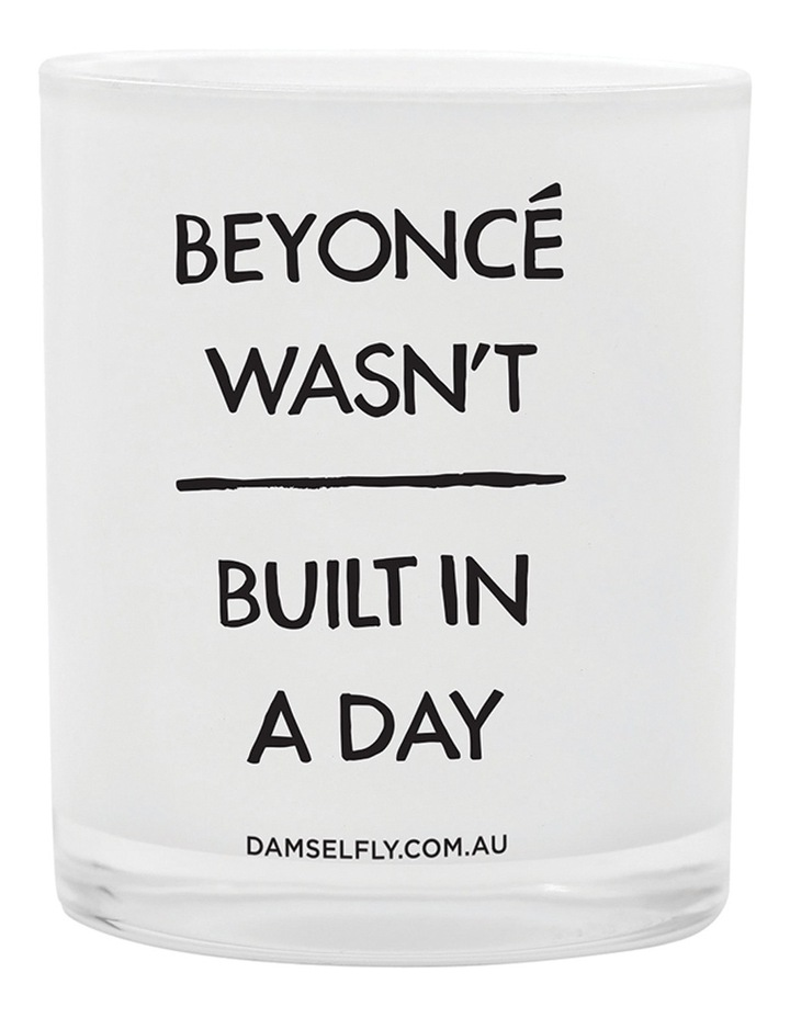 Beyonce Wasn't Built In A Day Candle image 1
