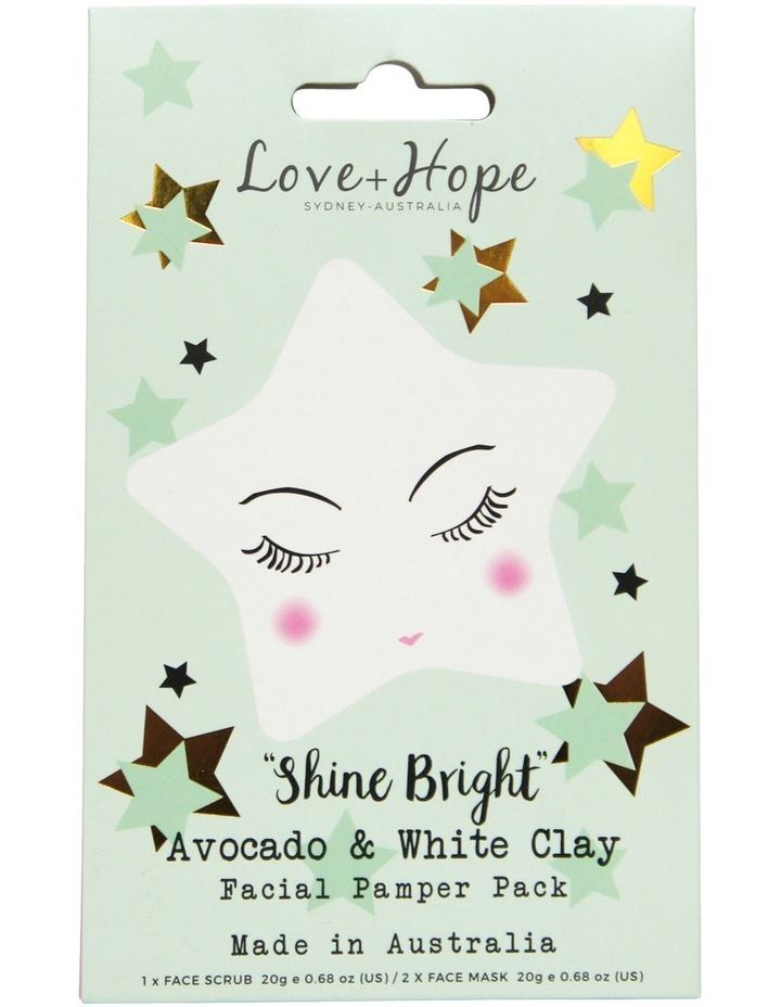Avocado & White Clay Face Pamper Pack image 1