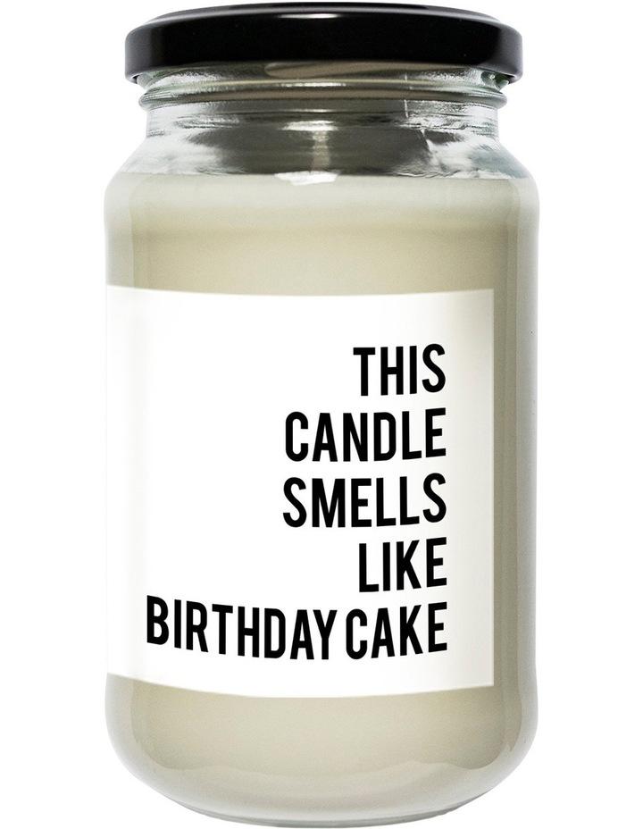 Regular Soy Candle Birthday Cake Image 1