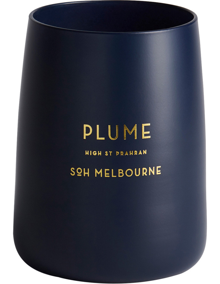 Navy Matte Plume Candle image 1