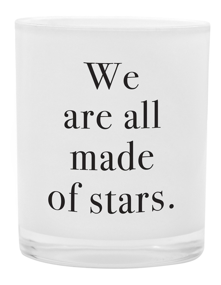We Are All Made Of Stars Mini Votive Candle 55g image 1