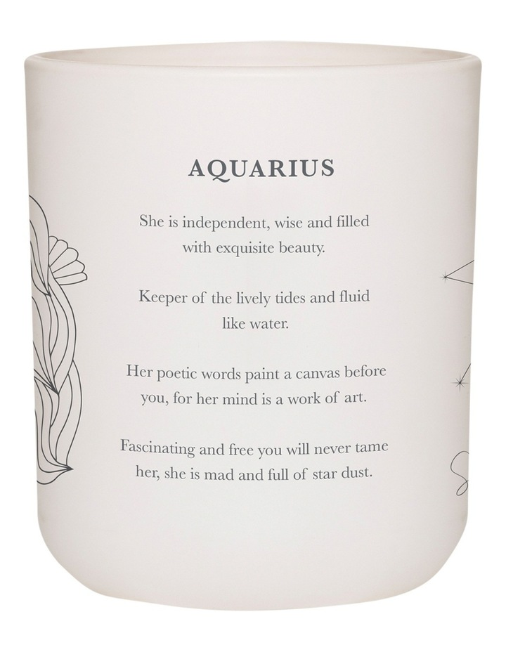 Aquarius Candle 300g image 3