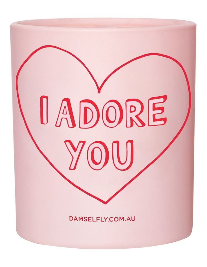 I Adore You Candle 300g image 1