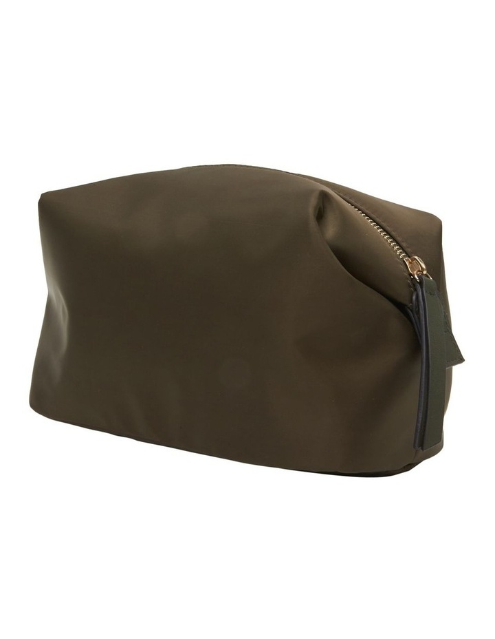Large Nylon Top Zip Cos Khaki image 3
