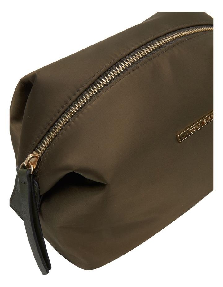 Large Nylon Top Zip Cos Khaki image 4