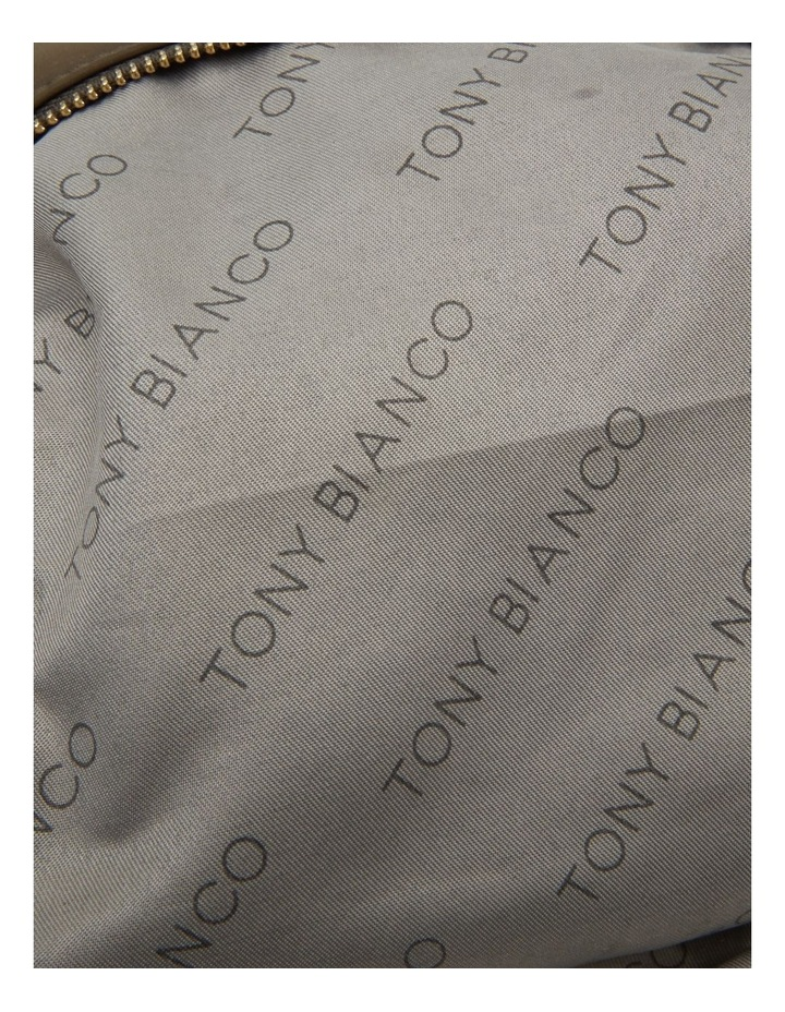 Large Nylon Top Zip Cos Khaki image 5