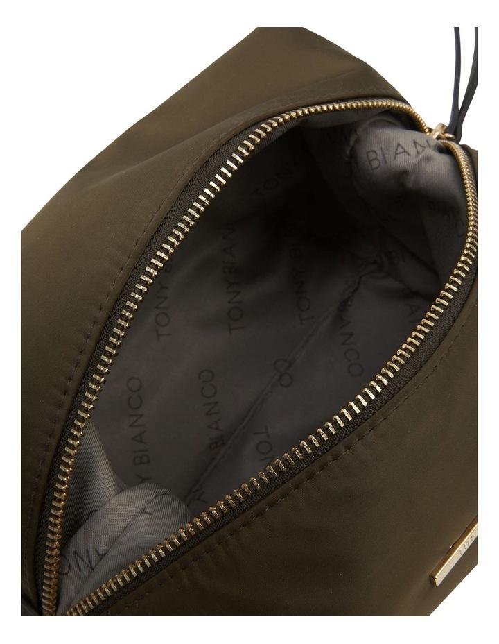 Large Nylon Top Zip Cos Khaki image 6