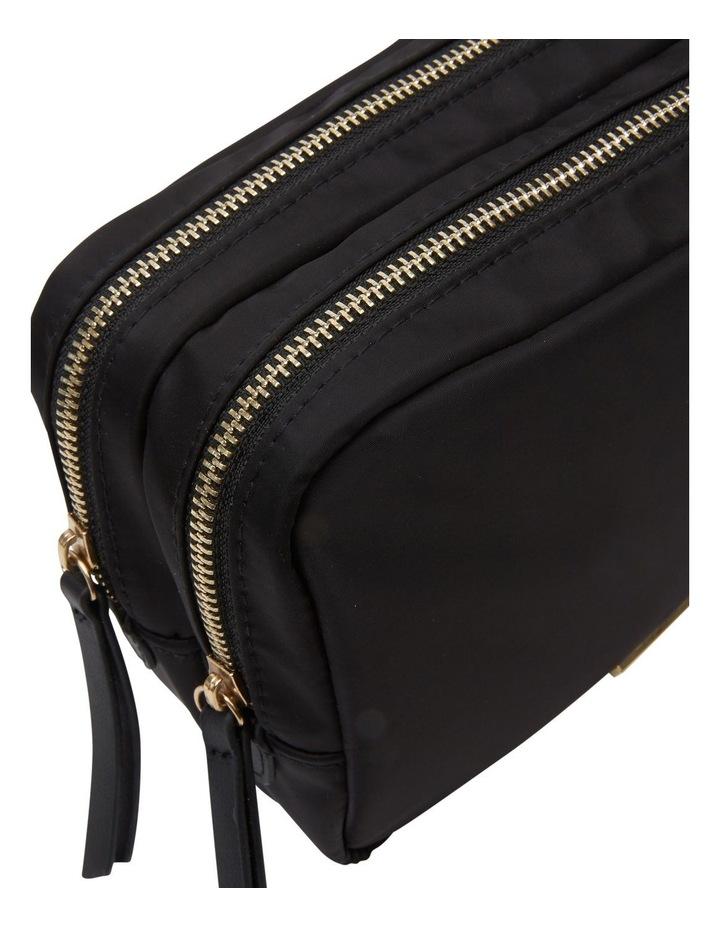 Nylon Double Zip Around Cos Black image 4