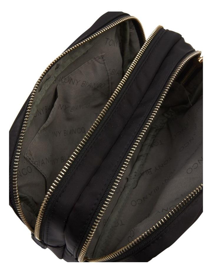 Nylon Double Zip Around Cos Black image 5