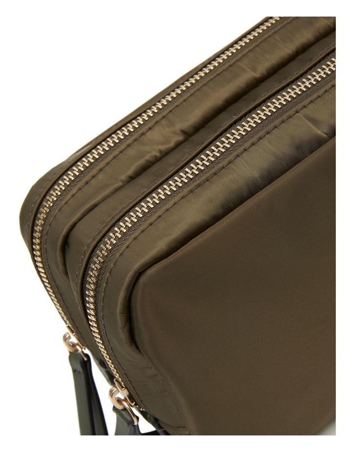 Nylon Double Zip Around Cos Khaki image 6
