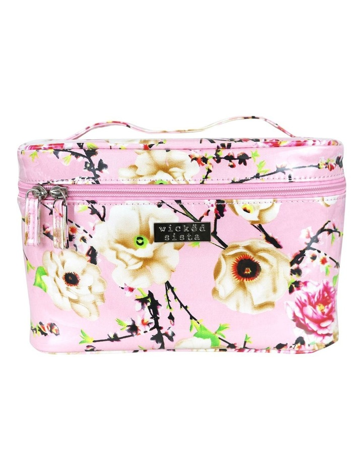 Pretty in Pastels Pink Small Beauty Case image 1