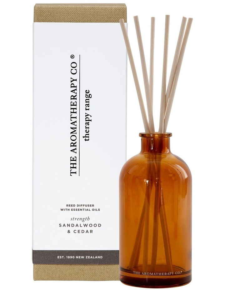Therapy Diffuser Strength Sandalwood & Cedar image 1