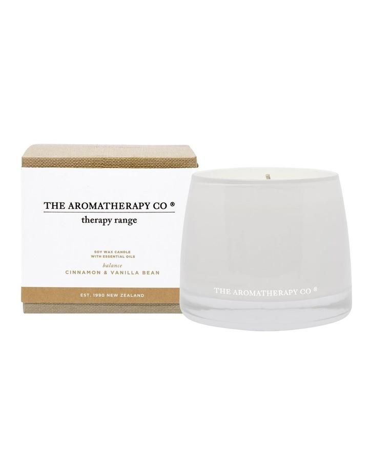 Therapy Candle Balance Cinnamon & Vanilla Bean image 1