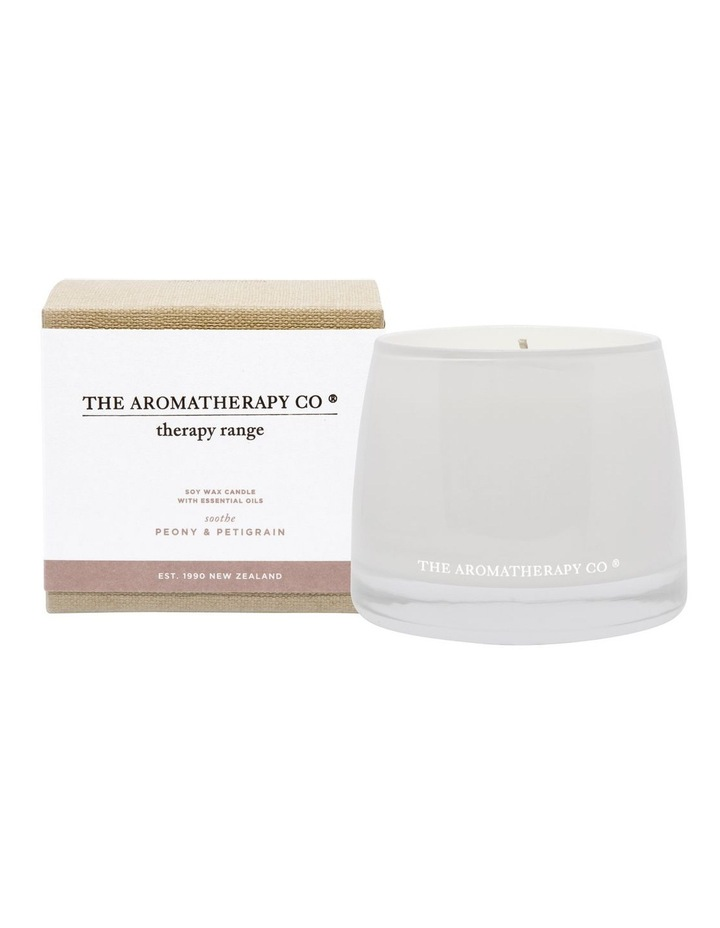 Therapy Candle Soothe Peony & Petigrain image 1
