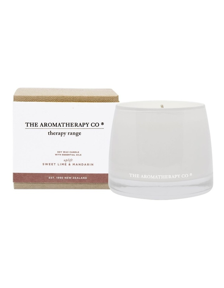 Therapy Candle Uplift Sweet Lime & Mandarin image 1