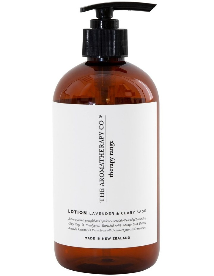 Therapy Hand & Body Lotion Relax Lavender & Clary Sage image 1