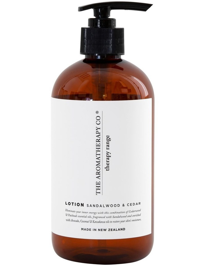 Therapy Hand & Body Lotion StrengthSandalwood & Cedar image 1