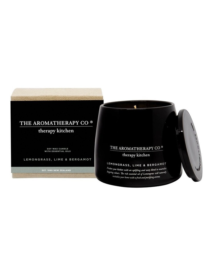 Therapy Kitchen Candle Lemongrass Lime & Bergamot image 1