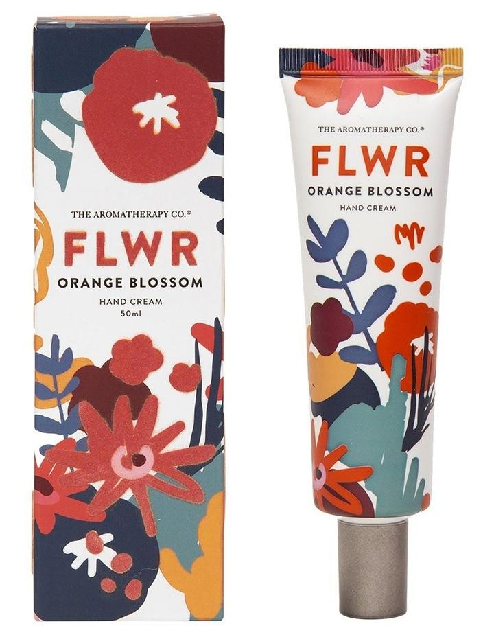 FLWR Hand Cream Orange Blossom image 1