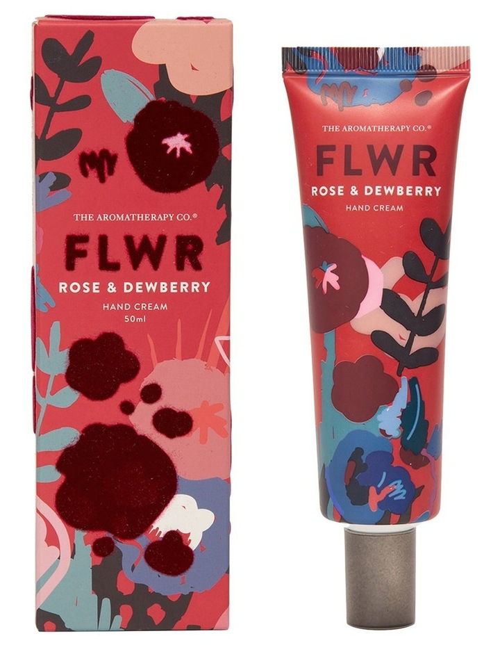 FLWR Hand Cream Rose & Dewberry image 1