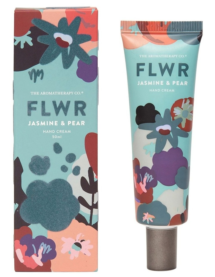 FLWR Hand Cream Pear & Jasmine image 1