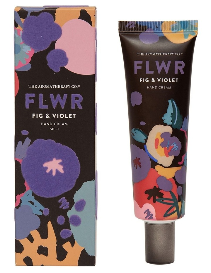 FLWR Hand Cream Fig & Violet image 1