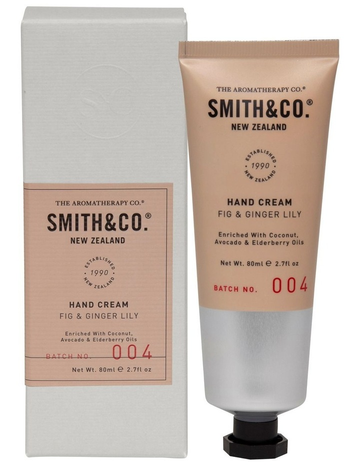 Smith & Co Hand Cream Fig & Ginger Lily image 1