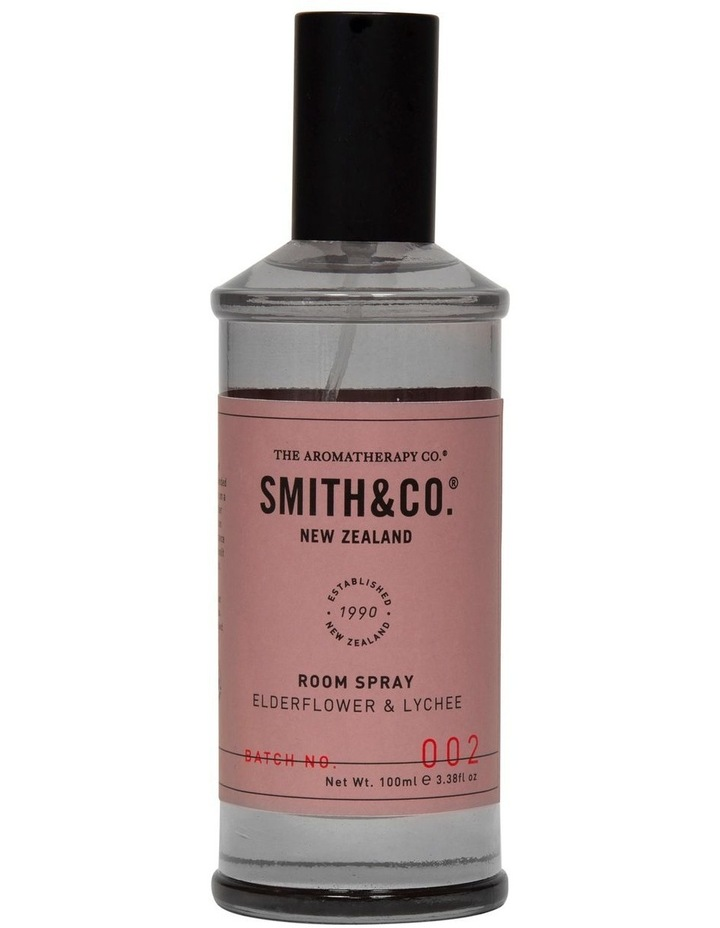 Smith & Co Room Spray  Elderflower & Lychee image 1