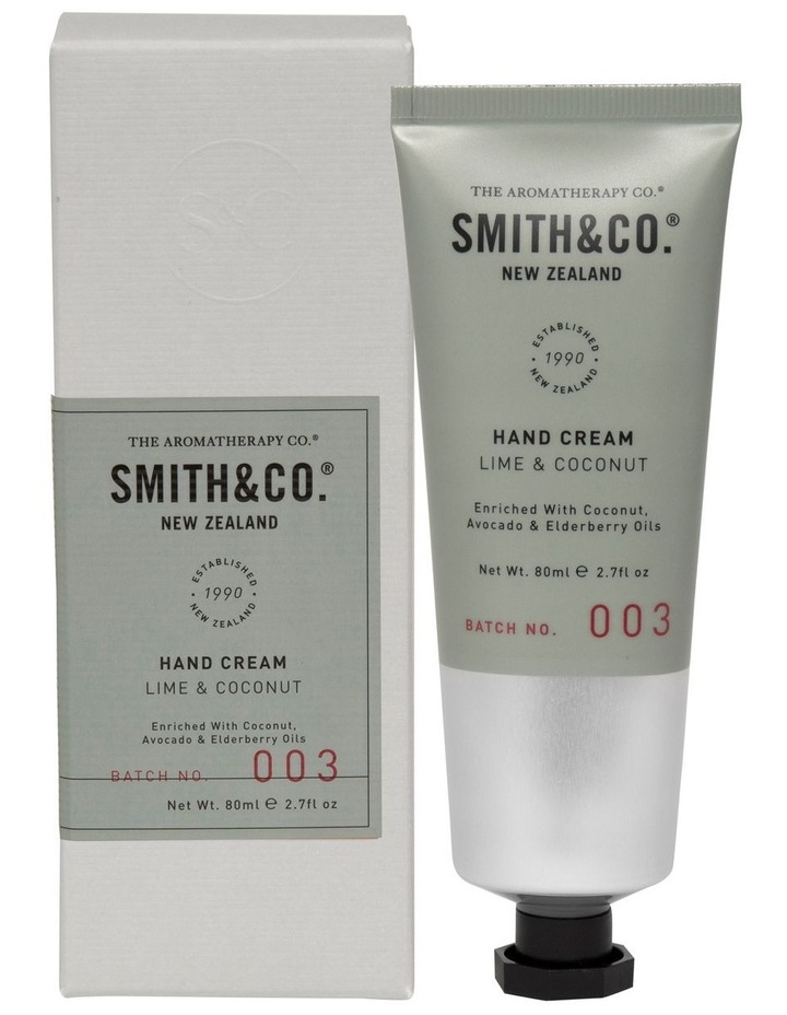 Smith & Co Hand Cream Lime & Coconut image 1