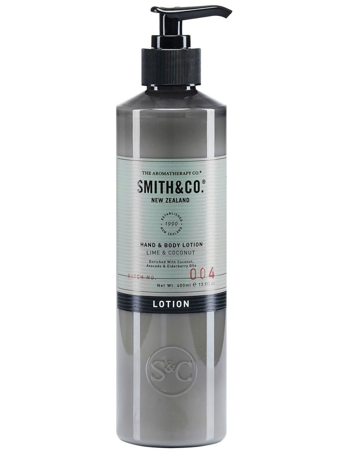 Smith & Co Hand & Body Lotion Lime & Coconut image 1