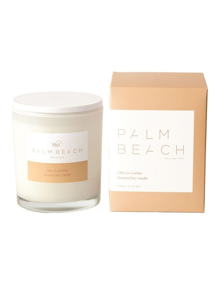 Lilies & Leather Candle image 1