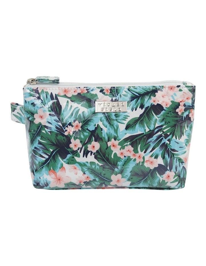 Tropical Resort Medium Luxe Cosmetic Bag image 1