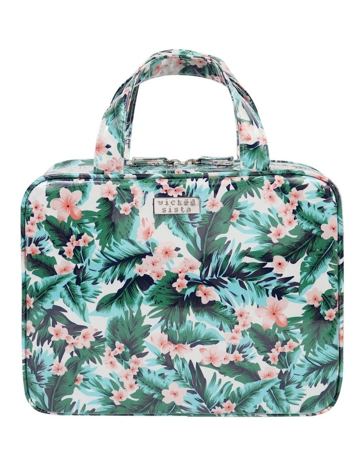 Tropical Resort Large Hold All Cosmetic Bag image 1